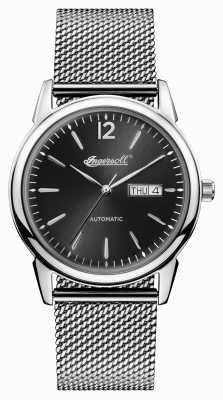 Ingersoll メンズ1892ステンレススティールブラックダイヤル I00505