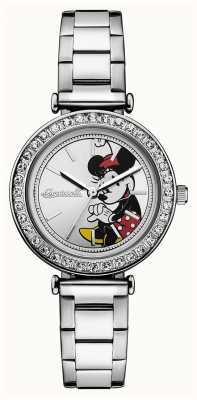 Disney By Ingersoll レディースユニオンディズニーステンレススティールシルバーダイヤル ID00305