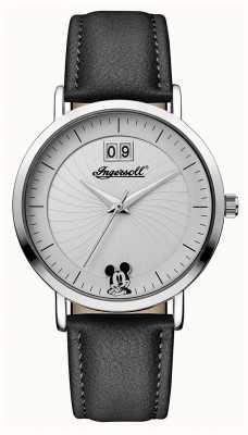 Disney By Ingersoll レディースユニオンディズニーブラックレザーストラップ ID00501