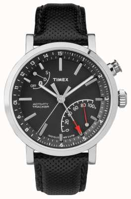 Timex メンズメトロポリタンクロノグラフブルートゥースアクティビティトラッカー TW2P81700