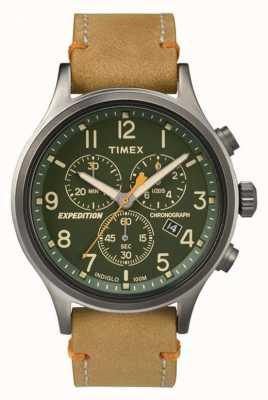 Timex メンズ・スカウト・クロノグラフ・ダイヤル TW4B04400