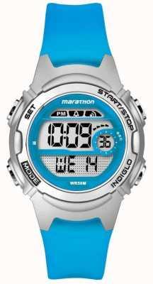 Timex 子供マラソンアラームクロノグラフブルー TW5K96900