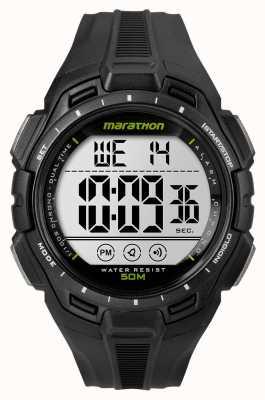 Timex メンズアイアンマンマラソンアラームブラック TW5K94800