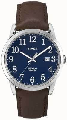 Timex メンズブルーダイヤル簡単リーダー TW2P75900