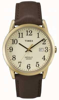 Timex メンズ簡単リーダークリームダイアル TW2P75800