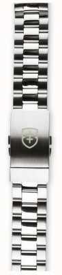 Elliot Brown メンズ22mmブラッシュ&ポリッシュ加工ステンレス製ストラップのみ STR-B01