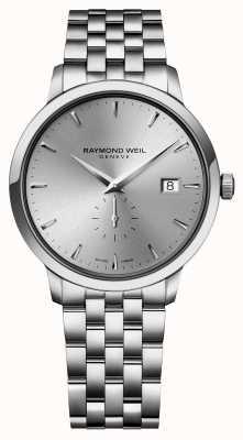 Raymond Weil メンズクォーツスリムステンレススチールシバインデックスダイヤル 5484-ST-65001