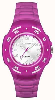 Timex ユニセックスマラソンアナログミッドパープル TW5M06600