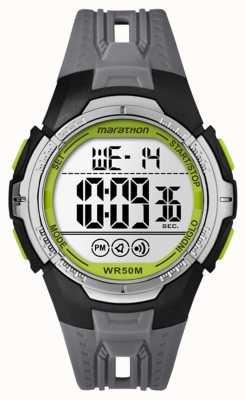 Timex ユニセックスマラソンデジタルブラックフルサイズ TW5M06700