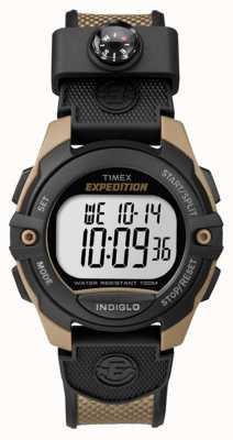 Timex メンズ遠征クロノグラフアラームタイマーブラウン TW4B07800