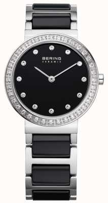 Bering ベアリングブラックセラミック/ステンレス鋼 10729-702