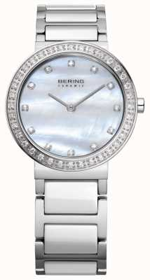 Bering 女性用ステンレスシルバー 10729-704