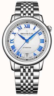 Dreyfuss レディースステンレススチール1925腕時計 DLB00148/01