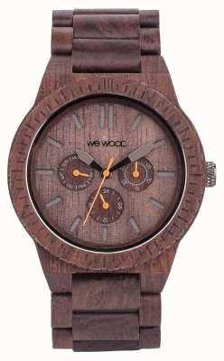 WeWood メンズカッパチョコレートウッドブラウンストラップ 70315500