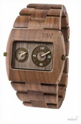 WeWood メンズジュピターrsナッツ木製茶色のストラップ 70331700