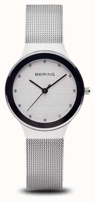 Bering 女子シルバーメッシュウォッチ 12934-000