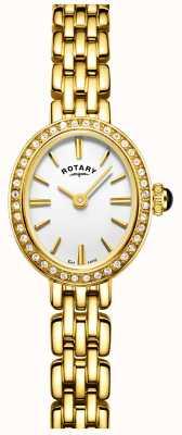Rotary レディースゴールドメッキカクテルウォッチ LB05051/02
