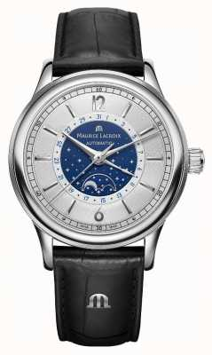 Maurice Lacroix Mens les classiquesムーンフェイズ自動 LC6168-SS001-122-1