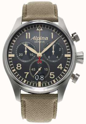 Alpina Startimerパイロット AL-372BGR4S6