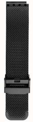 Bering メンズミラノブラックメッシュストラップ PT-15540-BMBX