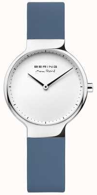 Bering レディースマックスレネ交換可能なブルーラバーストラップ 15531-700