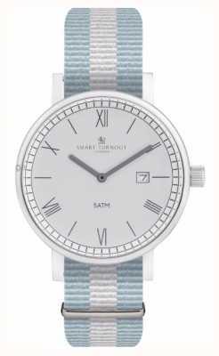 Smart Turnout 郡の腕時計 -  ellストラップ付きシルバー STK1/SV/56/W