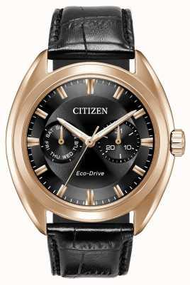 Citizen メンズエコドライブパラデックスブラックレザー BU4013-07H