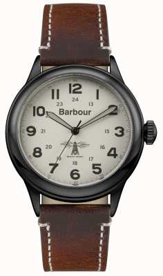 Barbour メンズムルトンレザー BB056CMBR