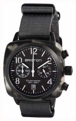 Briston メンズclubmaster classic酢酸アルプスハンターブラック 15140.PBAM.GT.3.NG