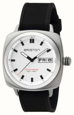 Briston 元ディスプレイメンズクラブマスタースポーツスチールhmsホワイト 16342.S.SP.2.RB-EX-DISPLAY