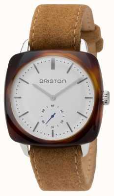 Briston メンズclubmasterヴィンテージアセテート小さなセカンドカメシェル 16440.SA.TV.2.LFCA