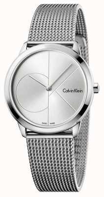 Calvin Klein レディースミニマルステンレスメッシュ K3M2212Z