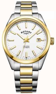 Rotary メンズハバナ自動2トーン GB05078/02