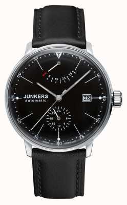 Junkers Ex表示モデルメンズバウハウスオートマチックブラックレザーストラップ 6060-2-EX-DISPLAY