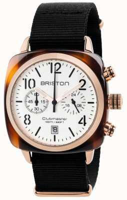 Briston メンズクラブマスタークラシッククロノグラフ 17140.PRA.T.2.NB