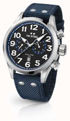 TW Steel ブルー生地の紳士腕時計 VS37