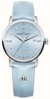 Maurice Lacroix 女子エリウロス8つのダイヤモンド青 EL1094-SS001-550-1