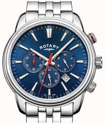 Rotary メンズモナコクロノグラフブルー GB05083/05
