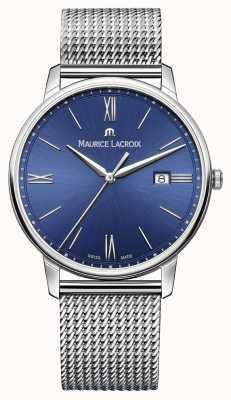 Maurice Lacroix メンズelirosブレスレットメッシュストラップブルー EL1118-SS002-410-1