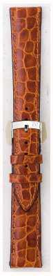 Morellato ストラップのみ - リバープールクロコ革ライトブラウン16mm A01U0751376037CR16