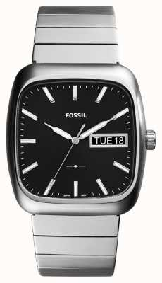 Fossil メンズラザフォードシルバーメタル FS5331