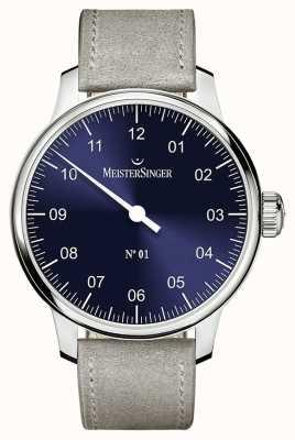 MeisterSinger メンズクラシックノー1人の手の傷売り手サンバースト青 AM3308