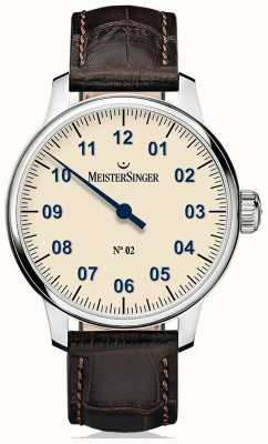 MeisterSinger メンズクラシックノー2手象牙 AM6603N