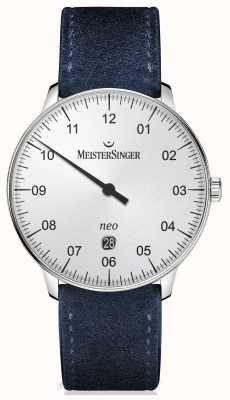 MeisterSinger メンズフォームとスタイルシルバー NE401