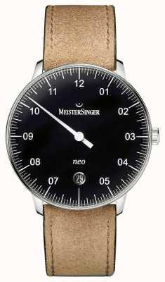 MeisterSinger メンズフォームとスタイルネオ自動黒 NE902N