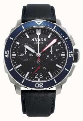 Alpina メンズseastrongダイバー300ビッグデイト AL-372LBN4V6