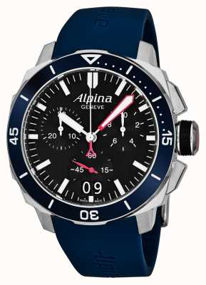 Alpina メンズシーストロングダイバー300ビッグデート AL-372LBN4V6