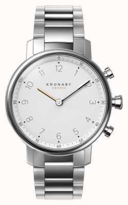 Kronaby 38ミリメートルノースブルートゥースステンレス鋼のブレスレットsmartwatch A1000-0710