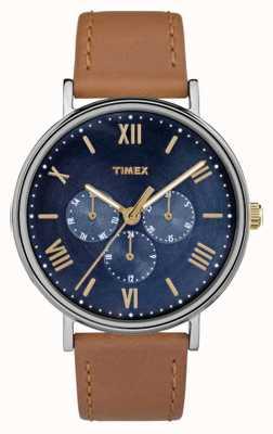 Timex メンズサウスビュー多機能クロノグラフブラウン TW2R29100