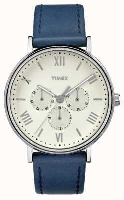 Timex メンズサウスビューマルチファンクションクロノグラフブルー TW2R29200
